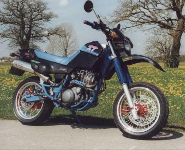Yamaha Xt Supermoto