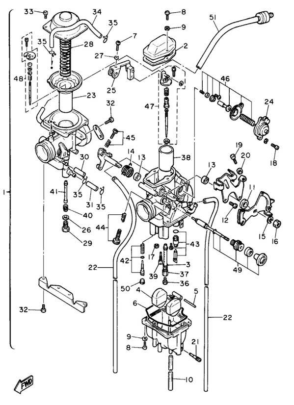 Yamaha Yzf Carburetor